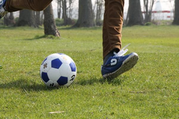 Footgolf in de herfstvakantie